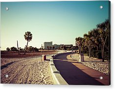 Acrylic Print featuring the photograph Treasure Island Beach Trail by Joel Witmeyer