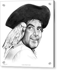 Treasure Island Acrylic Print by Greg Joens