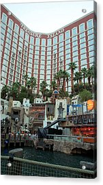 Treasure Island Hotel And Casino Las Vegas Nevada Acrylic Print by Alan Espasandin