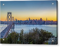 Treasure Island Sunset Acrylic Print by JR Photography