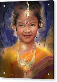 Treasure Of South Asia Acrylic Print by Bob Salo
