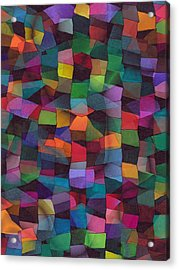 Treasures Acrylic Print by Susan  Epps Oliver