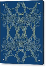 Tree 12 Hybrid 1 Bring Me Closer Acrylic Print