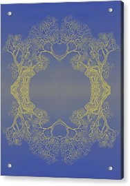 Tree 20 Hybrid 4 Acrylic Print