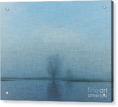 Tree Among Waters Acrylic Print by Inspired Arts