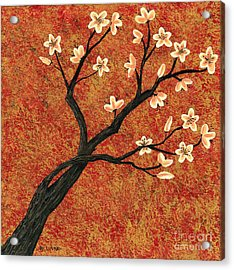 Tree Blossoms Acrylic Print