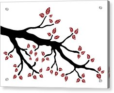Tree Branch Acrylic Print by Frank Tschakert