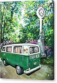 Tree City Gainesville Florida Acrylic Print