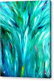 Tree Dance Acrylic Print by Amy Drago