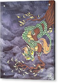 Tree Dragon Acrylic Print