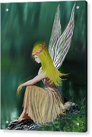 Tree Fairy Acrylic Print