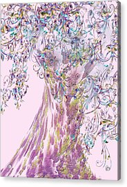 Tree Fancy Acrylic Print