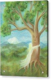 Tree Hugger Acrylic Print