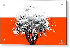 Tree Of Feelings Acrylic Print by Paulo Zerbato