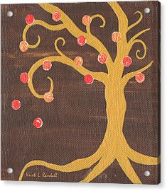 Tree Of Life - Right Acrylic Print by Kristi L Randall