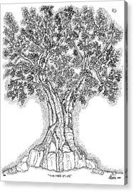 Tree Of Life 1 Acrylic Print by Glenn McCarthy Art and Photography