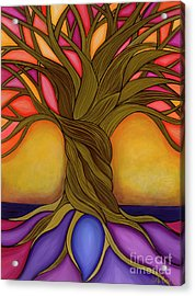 Acrylic Print featuring the painting Tree Of Life by Carla Bank