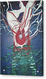 Tree Of Life Acrylic Print by Carrie Maurer