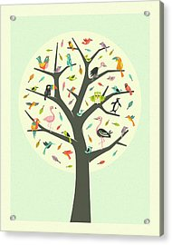 Tree Of Life Acrylic Print by Jazzberry Blue