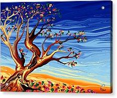 Tree Of Life Acrylic Print by Robin Monroe