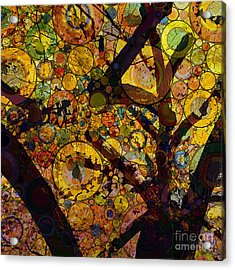 Acrylic Print featuring the digital art Tree Of Prosperity by Klara Acel