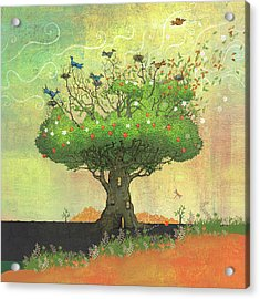 Tree Of Seasons Acrylic Print