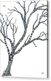 Tree Of Strength Acrylic Print