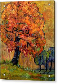 Tree Of Wisdom Acrylic Print