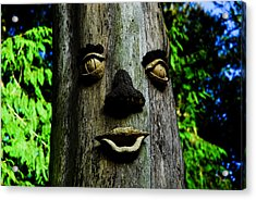 Tree People Acrylic Print by Craig Perry-Ollila