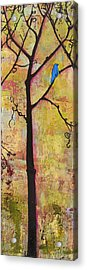 Tree Print Triptych Section 2 Acrylic Print