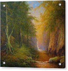 Fairytale Forest Tree Spirit Acrylic Print