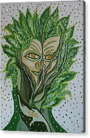 Tree Sprite Acrylic Print by Carolyn Cable