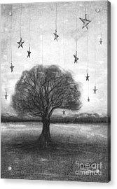 Tree Stars Acrylic Print