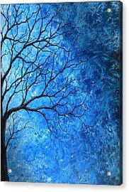 Tree Swirls Acrylic Print by Sabrina Zbasnik