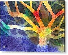 Tree Acrylic Print by Yevgenia Watts
