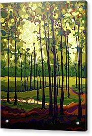 Treecentric Summer Glow Acrylic Print
