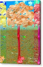 Treemingo Acrylic Print by Misha Bean