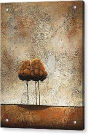 Trees 3 Acrylic Print by Jane Hunt