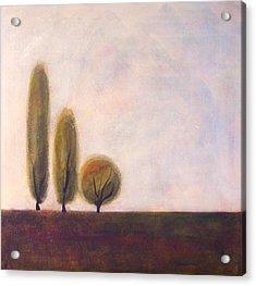 Trees Of Tuscany 2 Acrylic Print by Victoria Heryet
