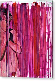 Tremble Acrylic Print by Rene Capone