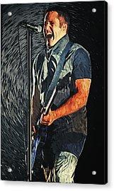 Trent Reznor Acrylic Print