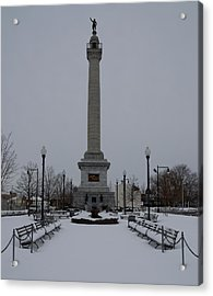 Acrylic Print featuring the photograph Trenton Battle Monument by Steven Richman