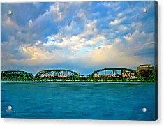 Trenton Makes The World Takes Acrylic Print