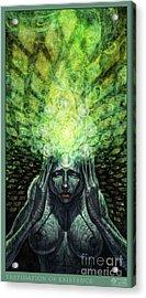 Trepidation Of Existence Acrylic Print by Tony Koehl
