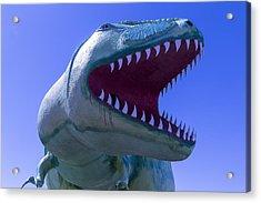 Trex Dinosaur Acrylic Print