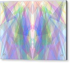 Tri-angles Acrylic Print