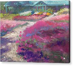 Trial Gardens In Fort Collins Acrylic Print by Grace Goodson