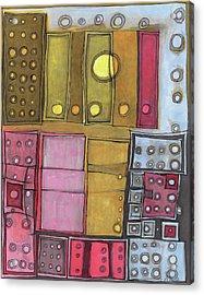 Geometric I Acrylic Print by Sandra Church