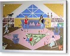 Triangular Life. Family Acrylic Print