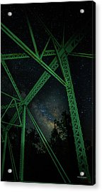 Triangulation Acrylic Print